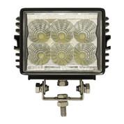 """RHOX 4.5"""" Golf Cart LED Utility Spotlight - 12V-24V (18 Watt / 1,350 Lumens, Fits All Carts)"""