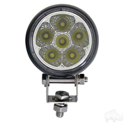 "RHOX 2.25"" Golf Cart LED Utility Spotlight - 12-24V (18 Watt / 1,350 Lumens, Fits All Carts)"