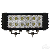 "RHOX 10.25"" Golf Cart LED Utility Light Bar - 12-24V (36 Watt / 2,700 Lumens, Fits All Carts)"
