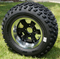 "12"" TRANSFORMER Wheels and 23x10.5-12"" All Terrain Tires"