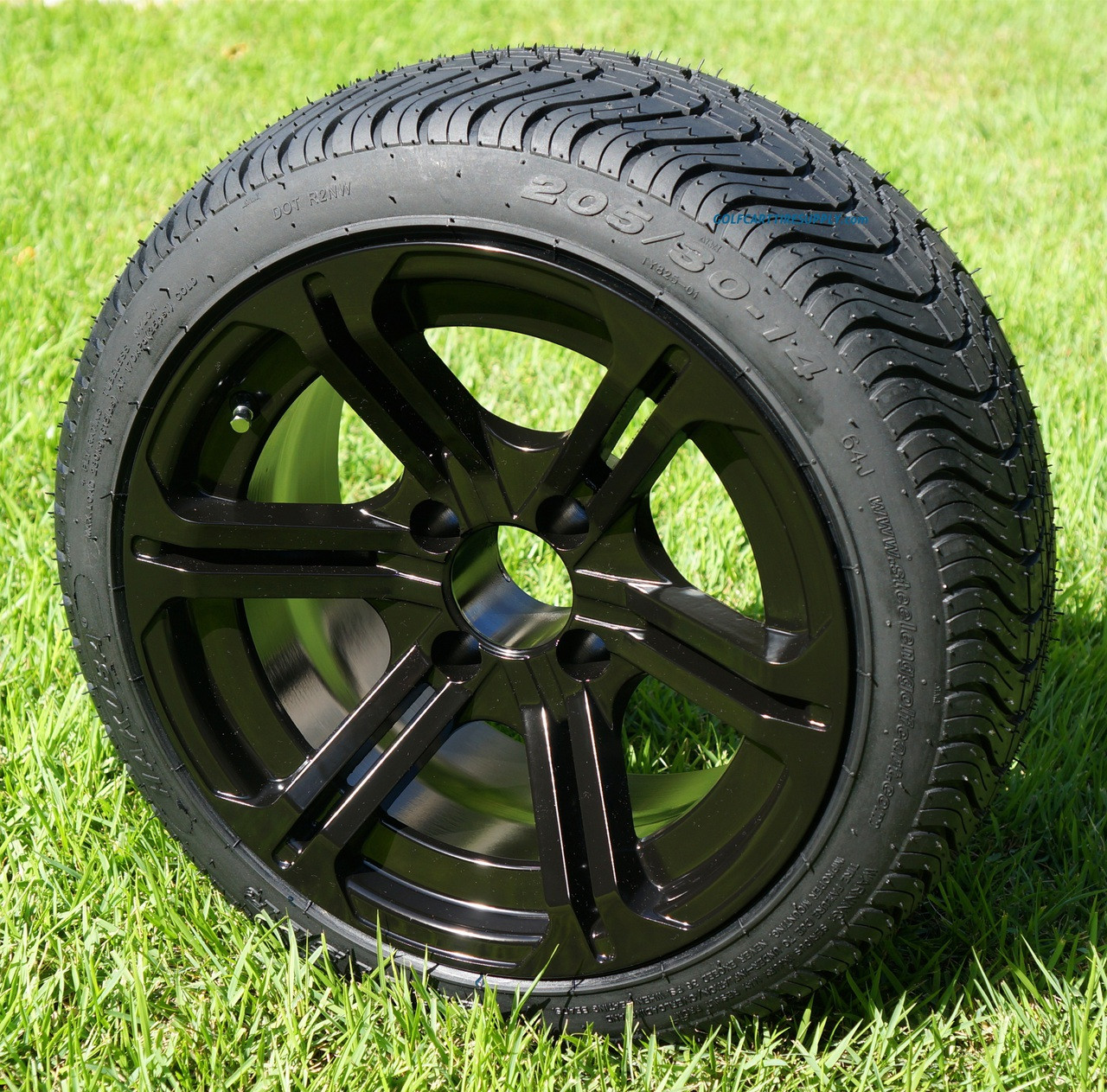14 reaper golf cart wheels and 205 30 14 dot golf cart tires combo golf cart tire supply. Black Bedroom Furniture Sets. Home Design Ideas