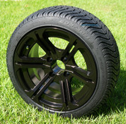 "14"" REAPER Aluminum wheels and DOT Low Profile Tires Combo"