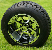 """10"""" Storm Trooper Wheels and 205/50-10 DOT Street Tires"""