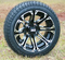 "12"" STI HD3 Machined Wheels and 205/30-12 DOT Tires"