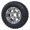 "12"" TERMINATOR Gunmetal Wheels and 23x10.5-12"" All Terrain Tires"