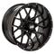 "12"" VORTEX Gloss Black Black Wheels and Excel Endura 215/40-12"" DOT Combo"