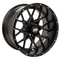 "12"" VORTEX Gloss Black Black Wheels and Excel Endura 215/40-12"" DOT Combo"