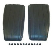 Club Car DS Scuff Guard in Black (Set of 2 Guards with Rivets, Fits 1981+)