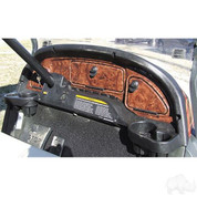 Woodgrain Dash Fits Club Car Precedent 2004-2008.5