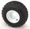 """RHOX RXAL 18x8-8 All Terrain Golf Cart Tires and 8"""" WHITE Steel Wheels"""