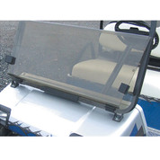 Club Car DS New Style 2000-Up RHOX Acrylic Folding Windshield - Tinted