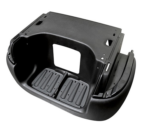 Club Car Precedent Rear Underbody & Bumper (Factory Black)