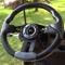 "Club Car Precedent 13"" Aviator-5 Carbon Fiber Golf Cart Steering Wheel w/ Black Aluminum Spokes"