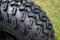 "10"" BULLDOG Black Aluminum Wheels and 22x11-10 All Terrain Tires"