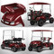 EZGO TXT TITAN Body Kit - Burgundy