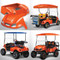 EZGO TXT TITAN Body Kit - Orange