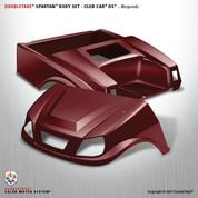 Cub Car DS SPARTAN Body Kit - Burgundy