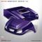 Club Car DS SPARTAN Body Kit - Purple