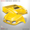 Club Car DS SPARTAN Body Kit - Yellow