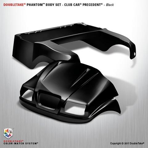 Club Car Precedent PHANTOM Body Kit - Black