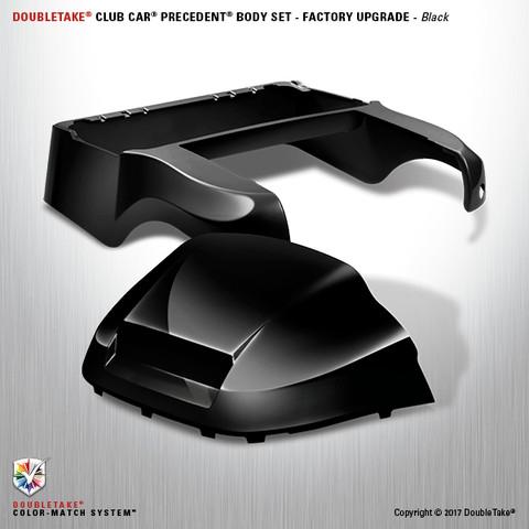 "Club Car Precedent ""Factory Style"" Body Kit by DoubleTake - Black"