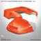 "Club Car Precedent ""Factory Style"" Body Kit by DoubleTake - Orange"