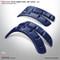 DoubleTake Deluxe Fender Flares - Navy Blue