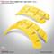 DoubleTake Deluxe Fender Flares - Yellow