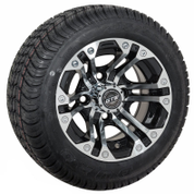 """10"""" SPECTER Wheels and Low Profile DOT approved tires"""
