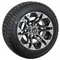 "10"" SPECTER Wheels and Low Profile DOT approved tires"