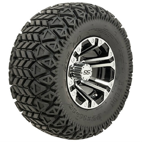 "10"" GTW SPECTER Machined Wheels and 22x11-10 All Terrain Tires Combo"
