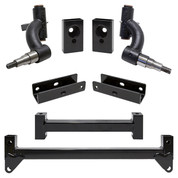 "3"" Yamaha Drive 2 GAS with EFI, Quiet Drive RHOX Drop Spindle Golf Cart Lift Kit"