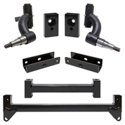 "RHOX 3"" Yamaha Drive-2 Drop Spindle Golf Cart Lift Kit (Fits GAS with EFI, Quiet Drive)"