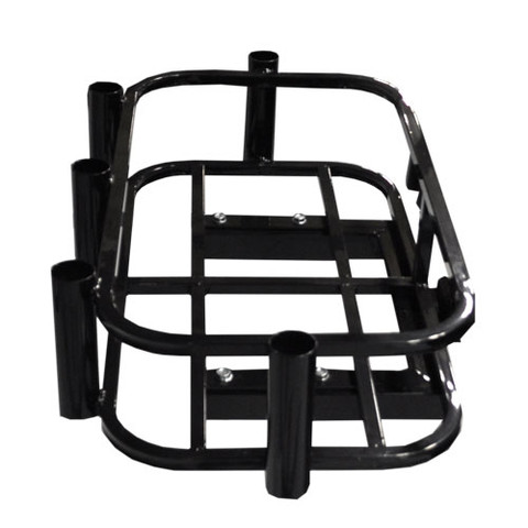 MADJAX Hitch Mount Cargo Carrier (Cooler/ Rod Holder Rack)