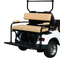 STAR Cart 2-in-1 Combo Rear Seat Kit (allows use of Golf Bags) - in Tan or Black