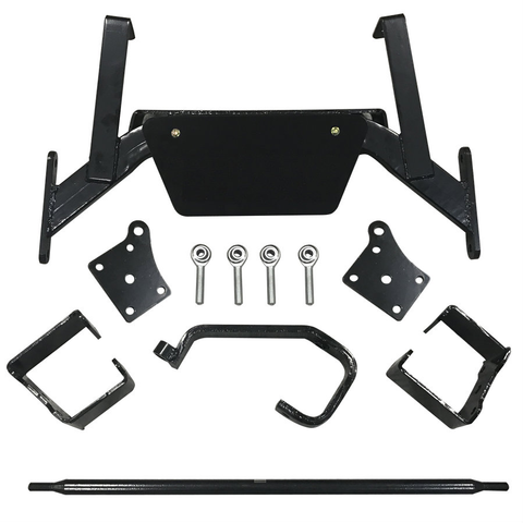 """6"""" EZGO TXT Golf Cart Drop Axle Lift Kit with Adjustable Camber for 2001.5 - 2013 TXT / Medalist ELECTRIC Carts"""