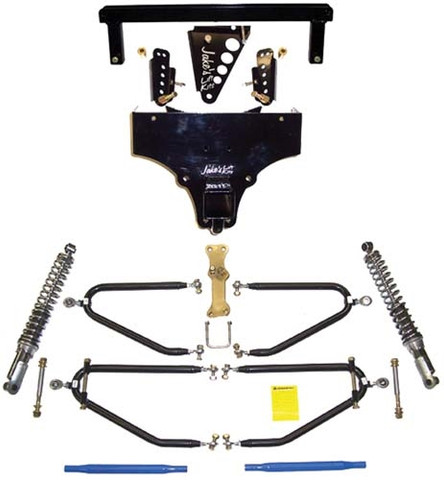 "JAKES 4""- 8"" Adjustable Long Travel Lift Kit for Yamaha G8, G14, G16, G19, 20 (Gas & Electric)"