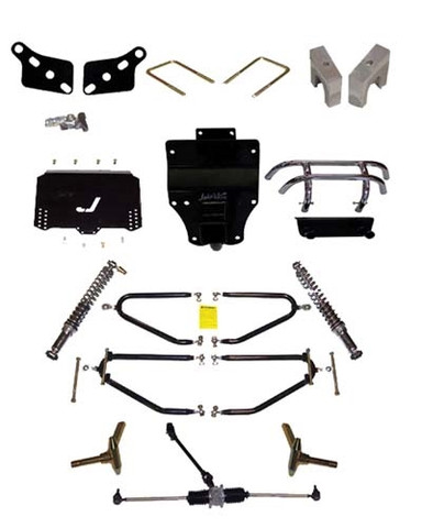"JAKES 4""- 8"" Adjustable Heigh Long Travel Lift Kit for Club Car DS 2004 & Newer (Gas & Electric)"