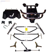 "JAKES 4""- 8"" Adjustable Heigh Long Travel Lift Kit for EZGO TXT GAS 2001.5-2009 (4-Bolt Steering Column, Gas)"