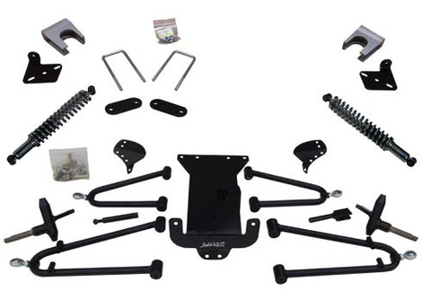 "JAKES 4""- 8"" Adjustable Heigh Long Travel Lift Kit for EZGO RXV ELECTRIC 2008 - 2013 with Kawasaki Motor"