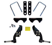 "Jakes 3"" Club Car DS Spindle Lift Kit - (1981-2003.5 w/ metal dust covers)"
