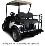 GTW MACH 3 Golf Cart Rear Seat for EZGO TXT/ Medalist/ PDS/ RXV (Flip Seat w/ Cargo Bed)