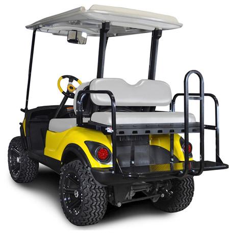 Madjax Genesis 150 Golf Cart Rear Seat for Yamaha G14-G29/Drive & Drive2 (Flip Seat w/ Cargo Bed)