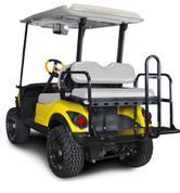 GTW Mach3 Golf Cart Rear Seat for Yamaha G14-G29/Drive & Drive2 (Flip Seat w/ Cargo Bed)