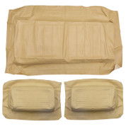 Yamaha G11-G22 TAN Factory Vinyl Golf Cart Seat Cover Set