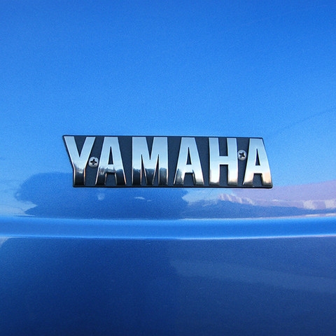 Yamaha Golf Cart Emblem for G16/ G19/ G21/ G22 (Front Name Plate)