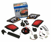 Madjax Yamaha Drive2 Golf Cart LED Ultimate Light Kit (Street Legal, Fits 2017+)