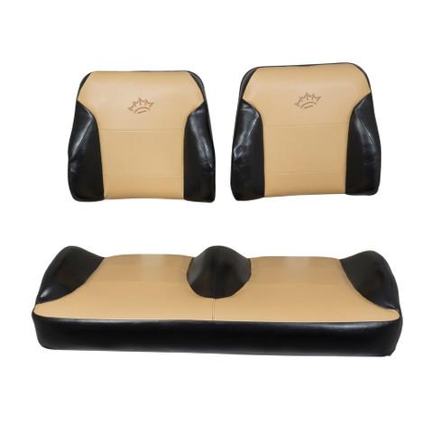 Club Car DS Black/Tan Suite Seats (Fits 2000-Up)
