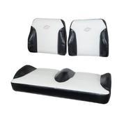 EZGO TXT Black/White Suite Seats (Fits 1994.5-2013)