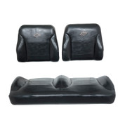 EZGO RXV Black Suite Seats (Fits 2008-2015)